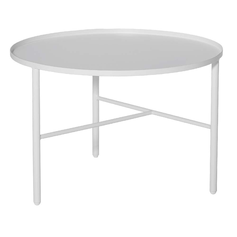 Weisser Couchtisch Im Skandinavischen Design Bei Milanari Com