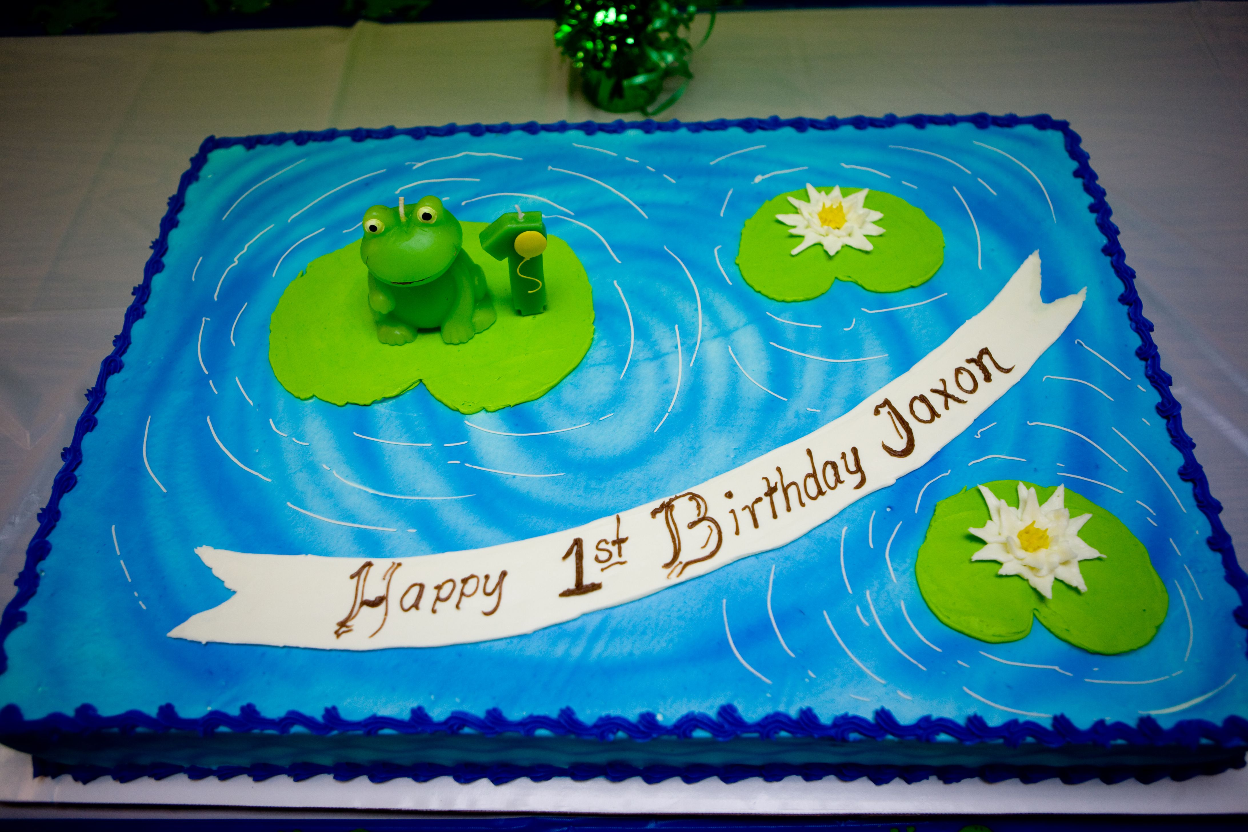 Leap Day Birthday Cake With Images Frog Birthday Party Leap
