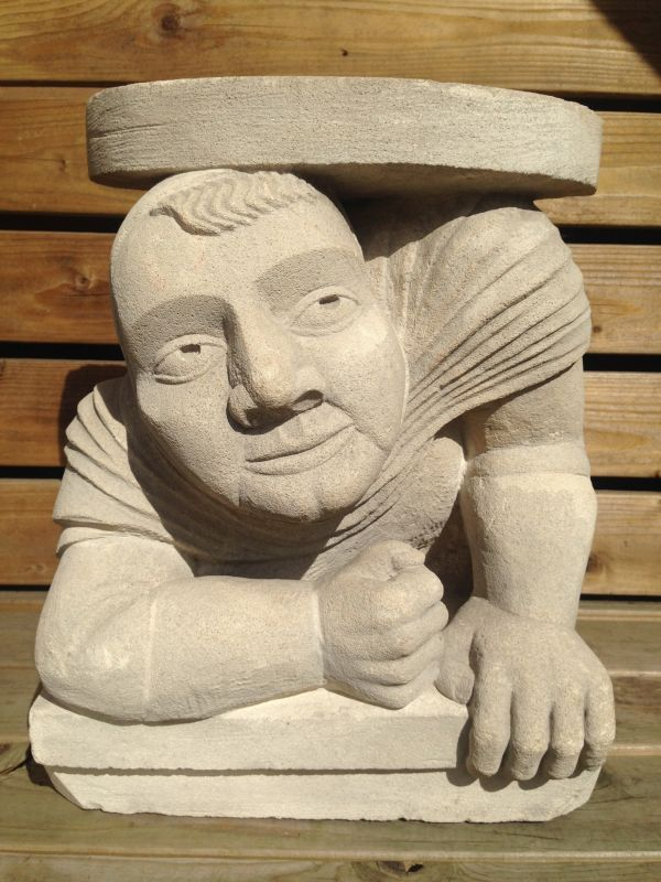 #Limestone #sculpture by #sculptor Nicholas Webster titled ...