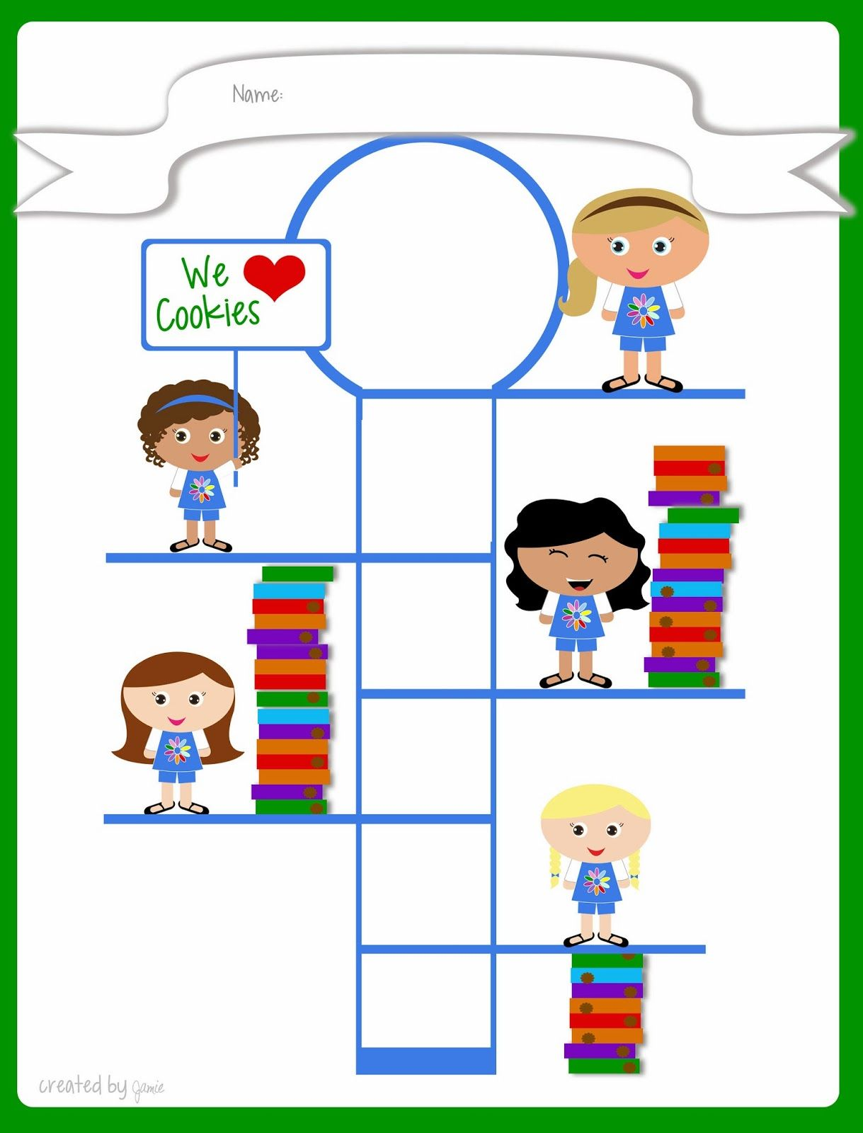 Girl Scouts Free Printable Cookie Goal Poster