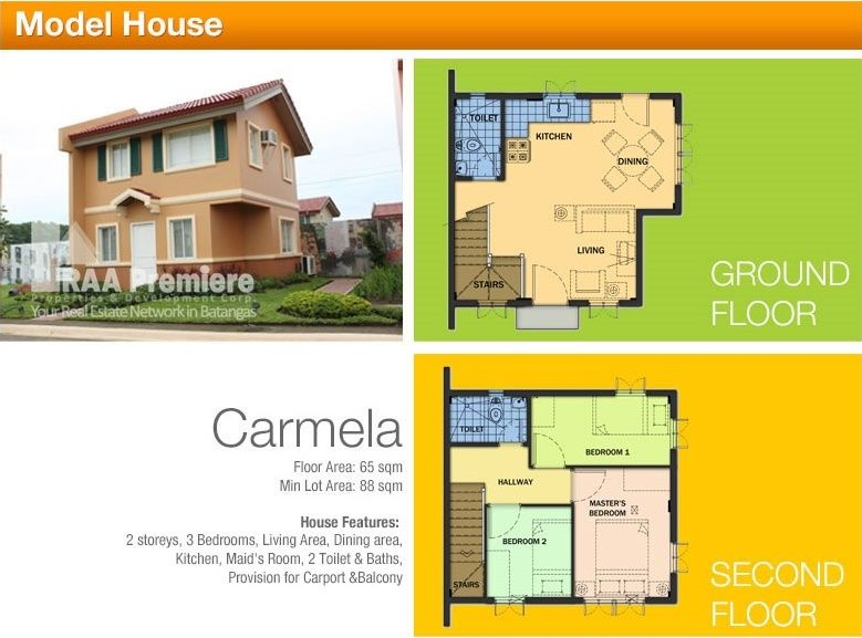 Camella Series Carmela For More Information Call Or Txt Raa