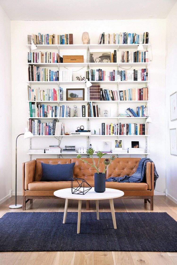 Diy Regal Hinter Couch Metall Profile Wohnzimmer Design Elegantes Wohnzimmer Wohnen