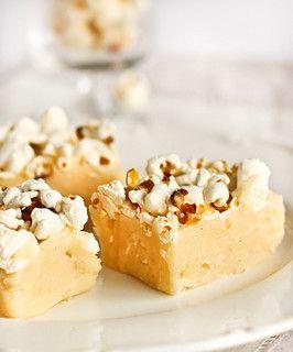 Popcorn Fudge By Raspberri Cupcakes Via Flickr Fantastic Fudge Recipe Fudge Fudge Flavors