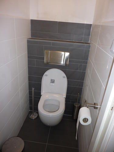 Totale renovatie badkamer en apart toilet 21 pinterest for Toilet betegeld