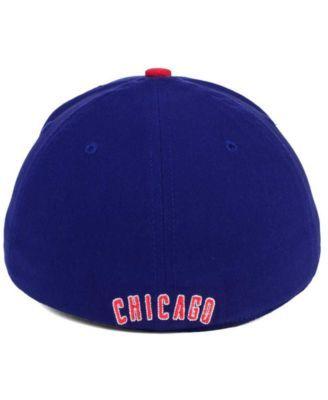 new product 368c6 35db8 Nike Chicago Cubs Classic SwooshFlex Cap - Blue L XL