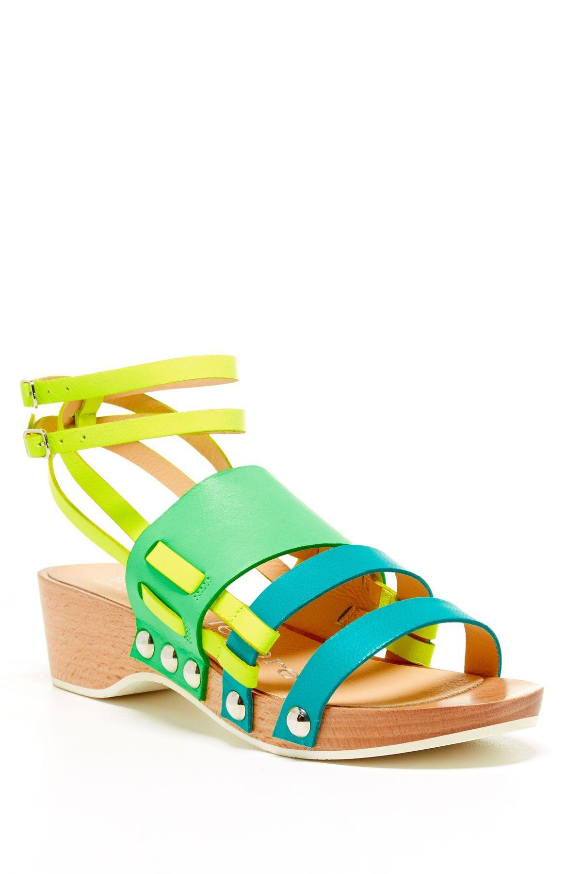 Nanette Lepore Bellini Wedge Sandal Sandals Shoes