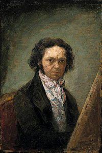 Goya, Self-portrait, c. 1796-97. Museo del Prado
