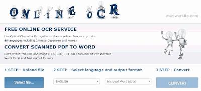 Cara Cepat Mengubah Teks Dari Pdf Dan Gambar Menjadi Format Word Excel Dan Text Tanpa Software Teks Gambar