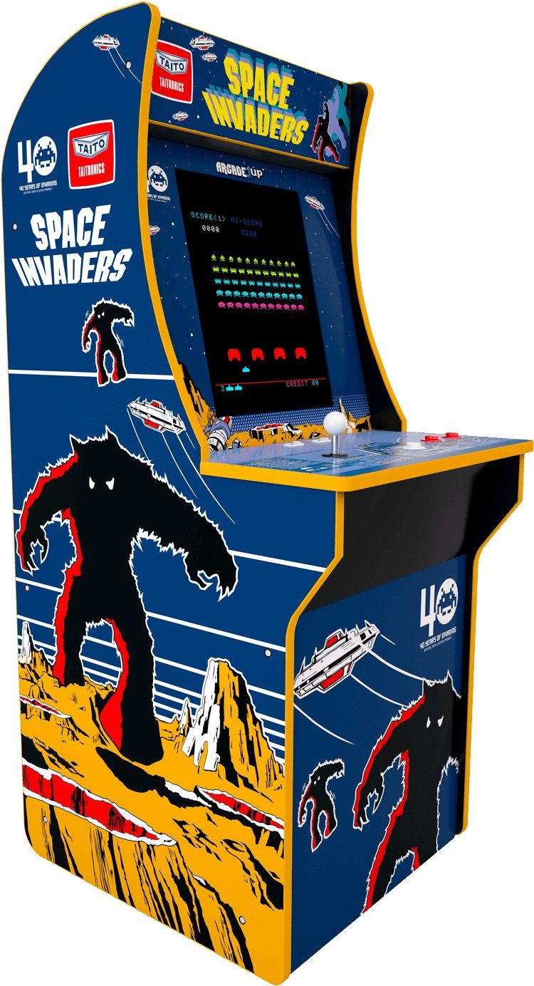 Arcade 1up Space Invaders Arcade Cabinet In 2021 Space Invaders Arcade Space Invaders Arcade