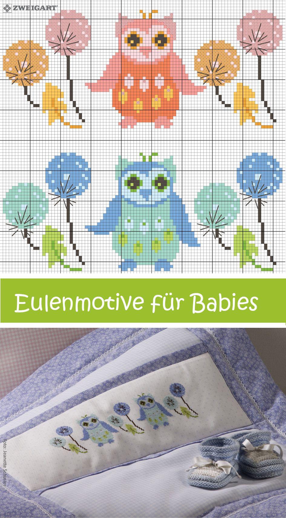 Contemporary Freie Eulen Nähmustern Vignette - Decke Stricken Muster ...