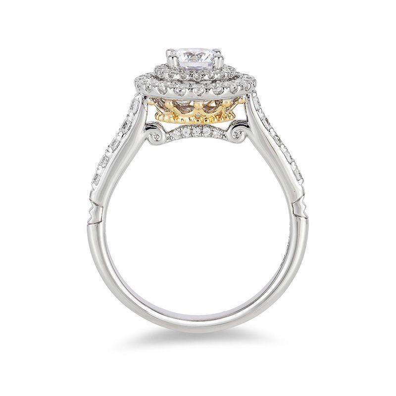 All Of Love S Most Precious Moments Shine Through This Sparkling Diamond Engagem Crown Engagement Ring Disney Engagement Rings Disney Princess Engagement Rings