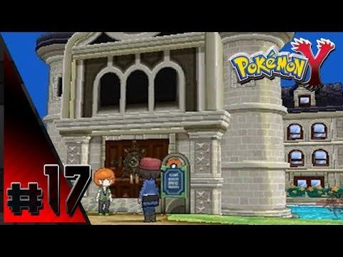 Pokemon Y Walkthrough Part 17 The Battle Chateau Pokemon Y