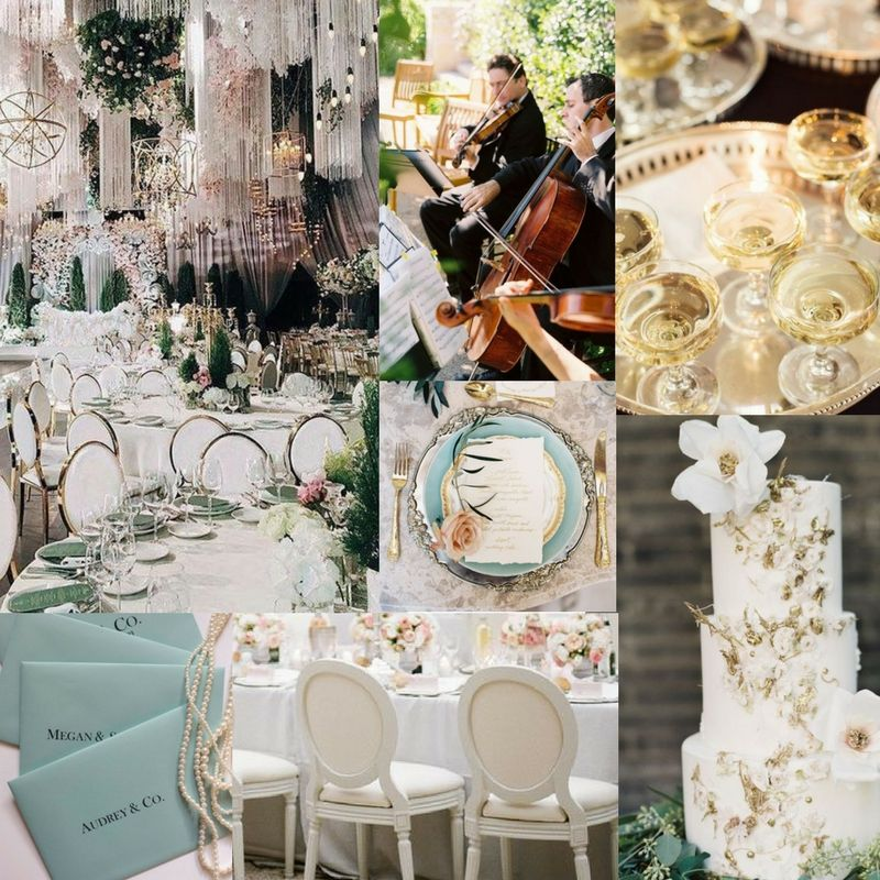 Create Your Own Tiffany Co Inspired Wedding Theme Wedding