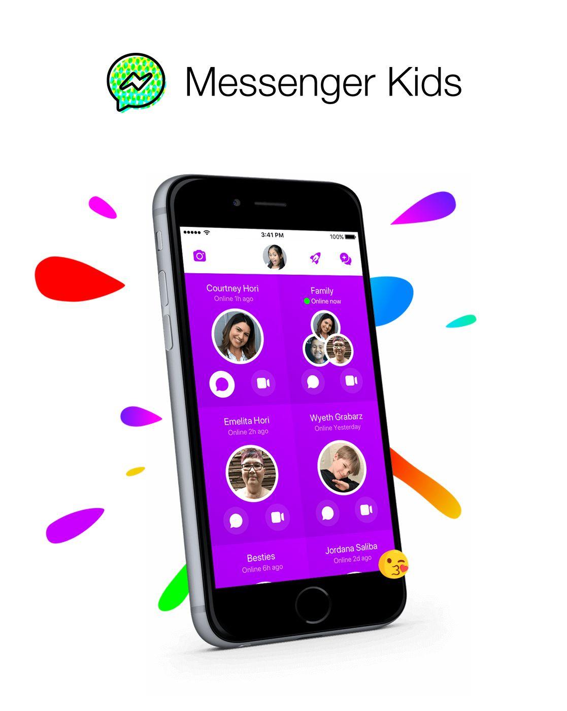Facebook Messenger Kids The social media giant's parent