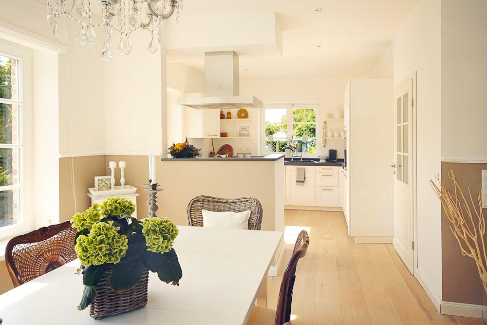 Landhaus-Stadtvilla Häuser Pinterest Stadtvilla, Landhäuser - offene küche wohnzimmer trennen