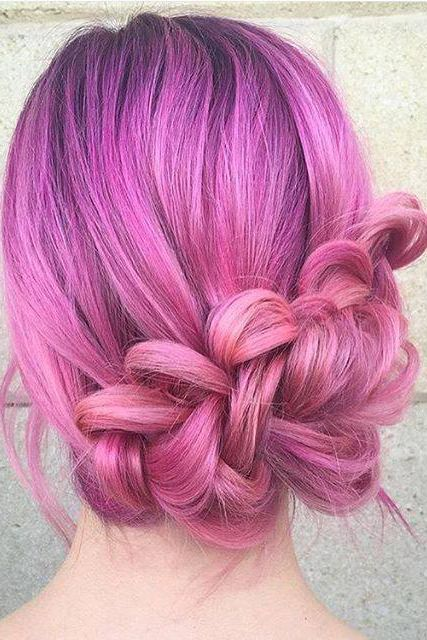 Beautiful Pink Ombre Hair Our Colours Here Http Bit
