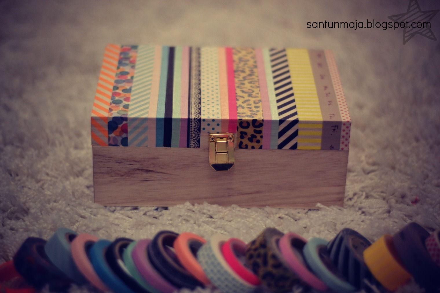 Santun Maja: masking tape box