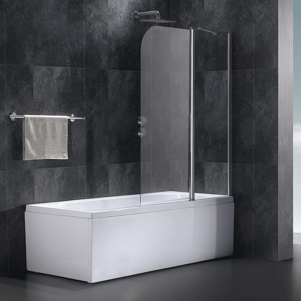 64 atlantes 750 bath screen bathstore 6mm tempered. Black Bedroom Furniture Sets. Home Design Ideas