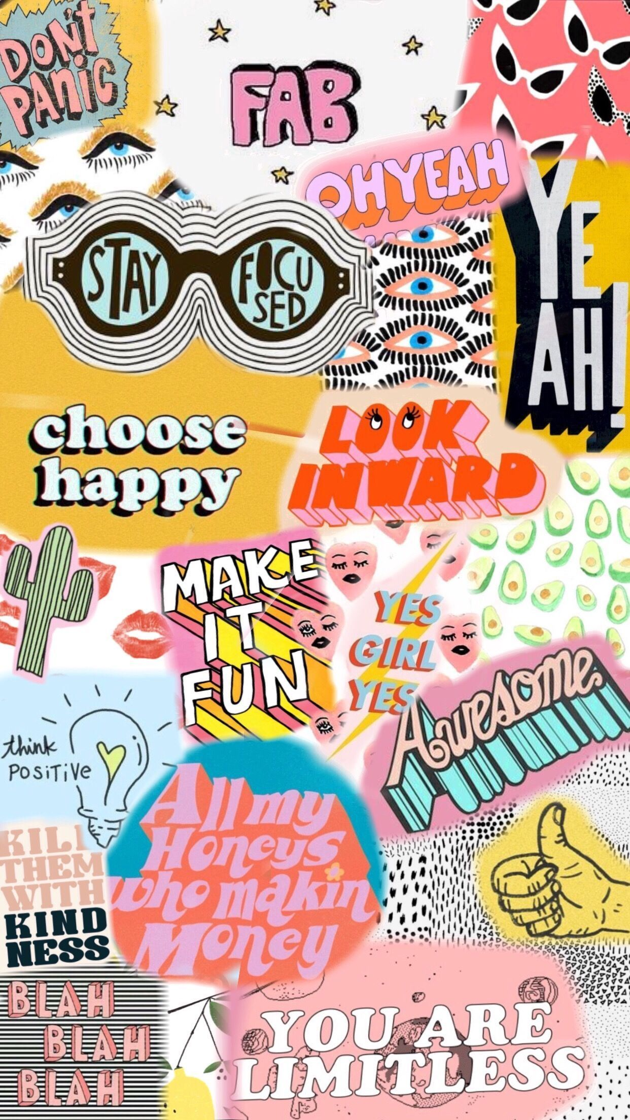 Cute Collage Wallpapers Top Free Cute Collage Backgrounds Wallpaperaccess Collage Background Iphone Wallpaper Vsco Iphone Wallpaper