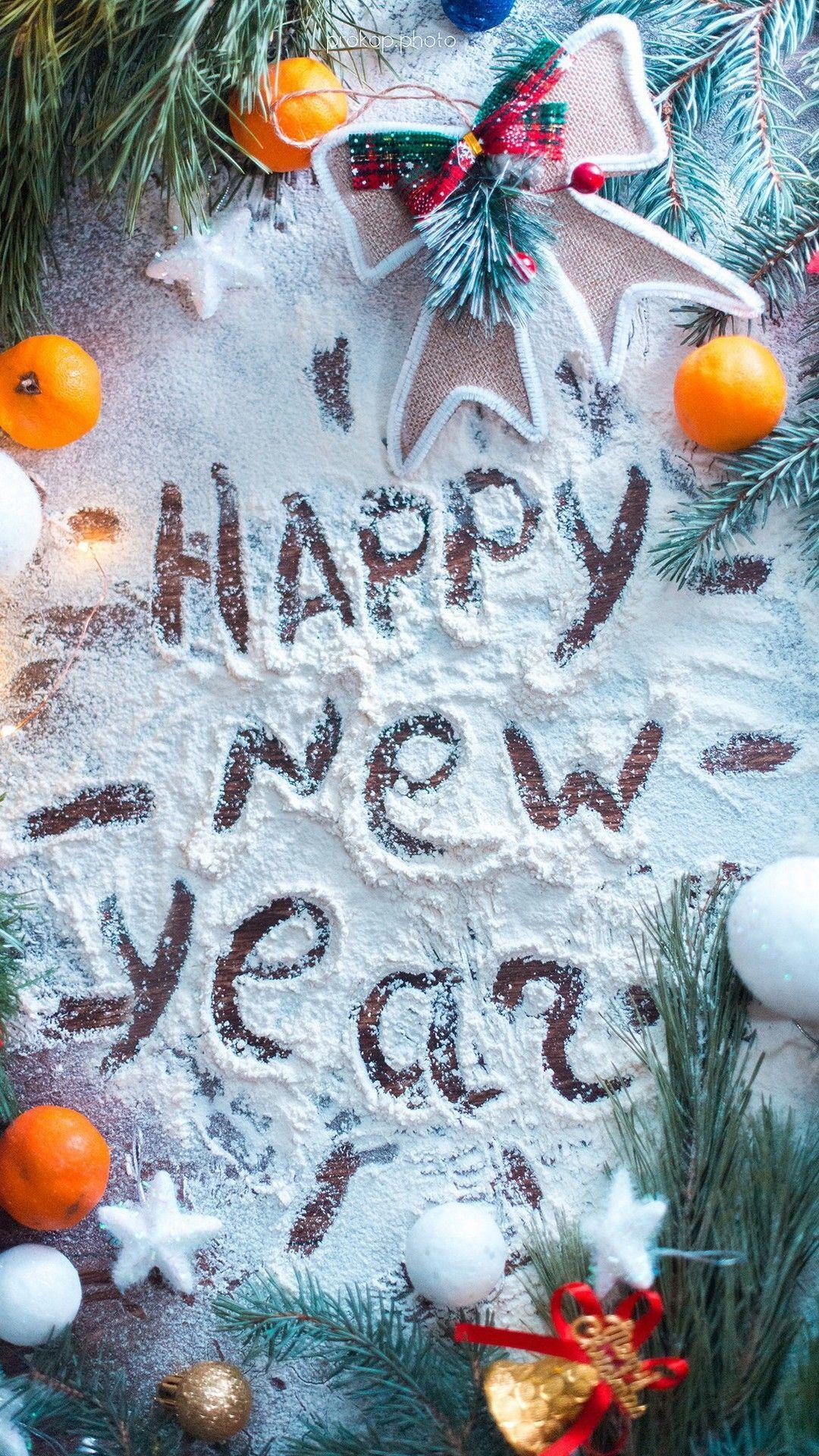 Happy New Year Wallpaper For Mobile Rozhdestvenskie Pozdravleniya Novogodnie Otkrytki Rozhdestvenskie Otkrytki