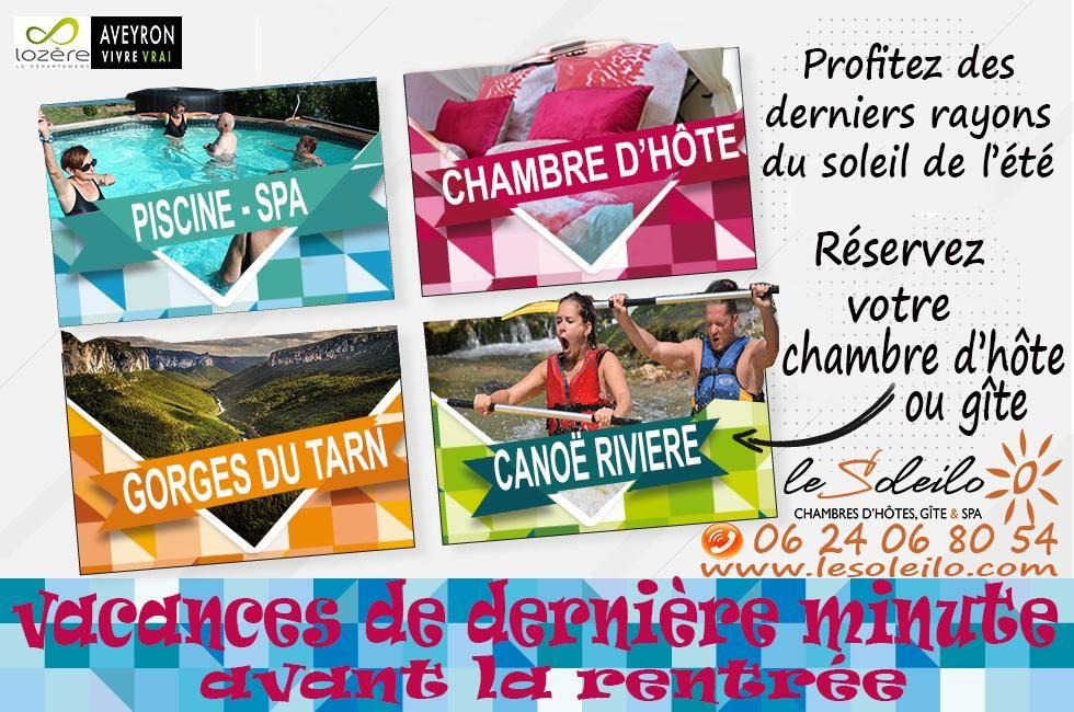 Vacances De Dernière Minute Location De Chambres Du0027hôte Et Gîte En Aveyron  Dans Les