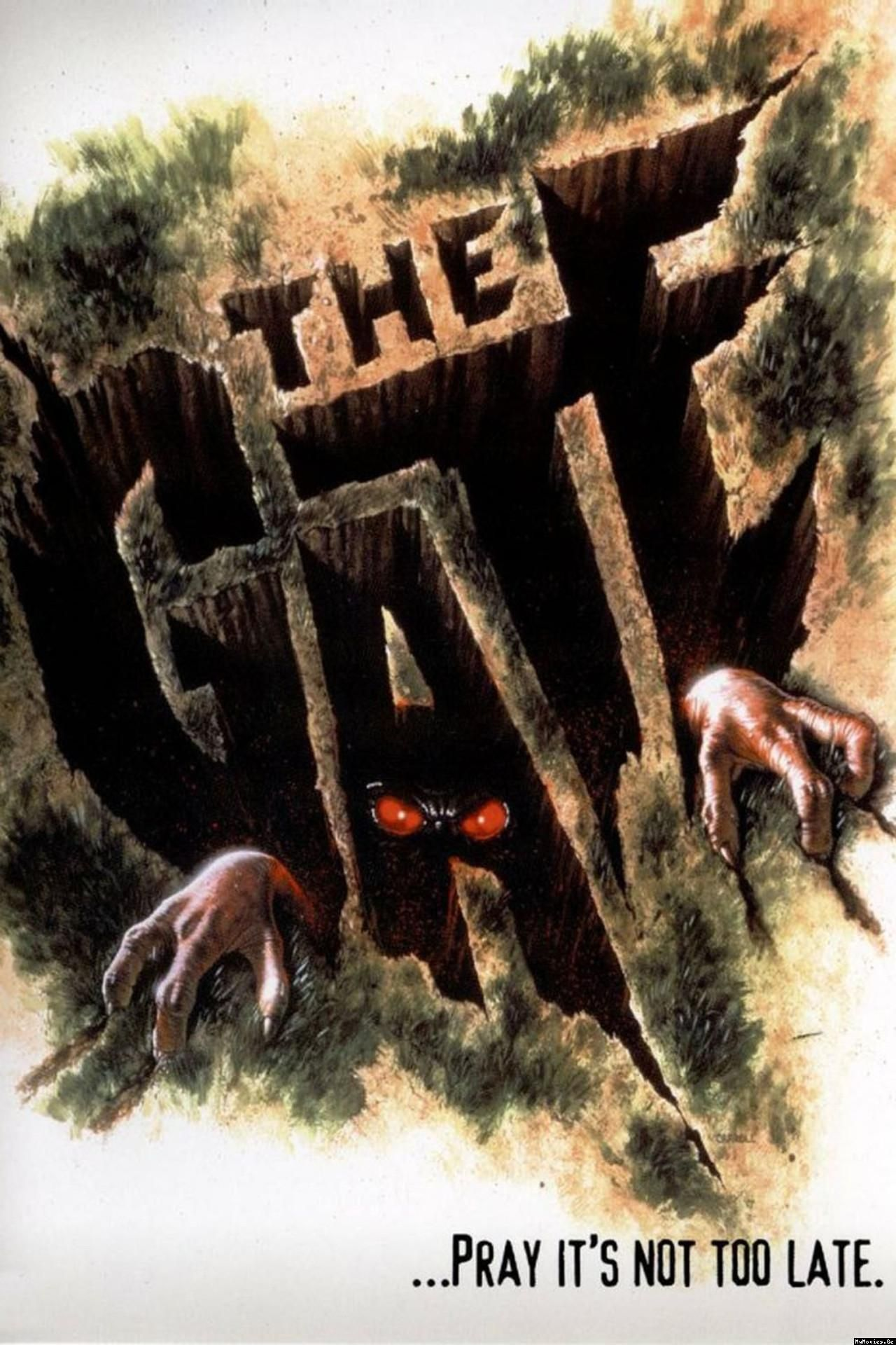 The Gate (1987) (With images) Horror movies, Classic