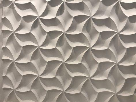 Gyönyörű megoldás egy hálószobában Loft Design System gipsz falpanelekből. A falpanelek megrendelhetők a Kerma Design webáruházból.