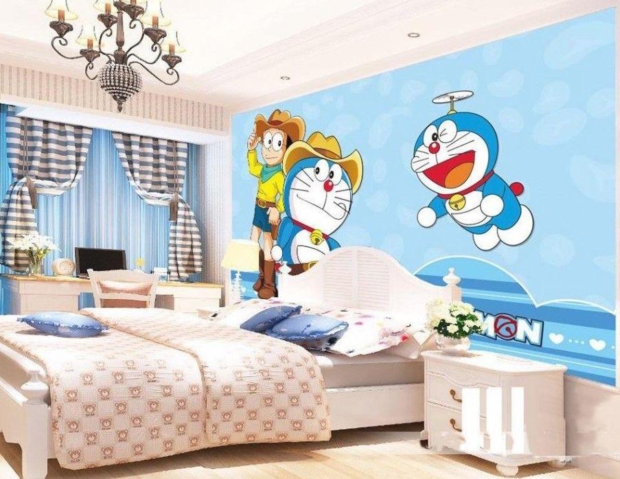 89 gambar kamar tidur doraemon modern kekinian model on wall stickers stiker kamar tidur remaja id=80950