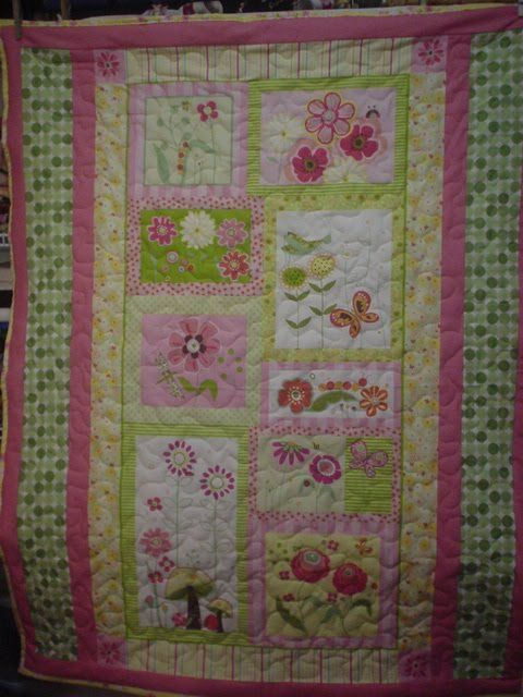 Baby Quilt Panel Kits | Inch Worm Fabrics: Baby Quilts from Panels ... : quilt panel kits - Adamdwight.com