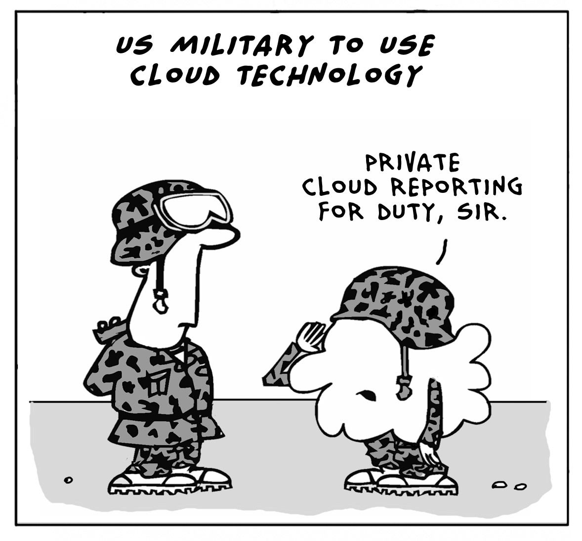 US Military to use Cloud Technology ;p via @CloudTweaks #