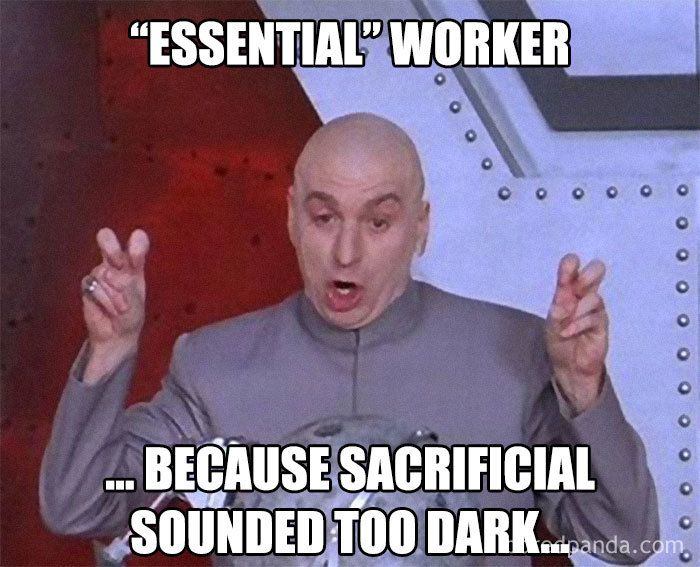 30 Hilarious Essential Worker Memes