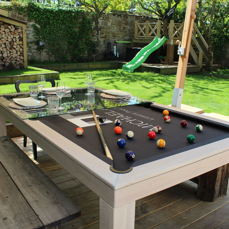 Outdoor Pool Table in 2020 Outdoor pool table, Diy pool