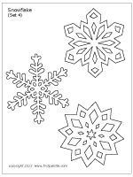 snowflake | printable templates  coloring pages | firstpalette | schneeflocke schablone
