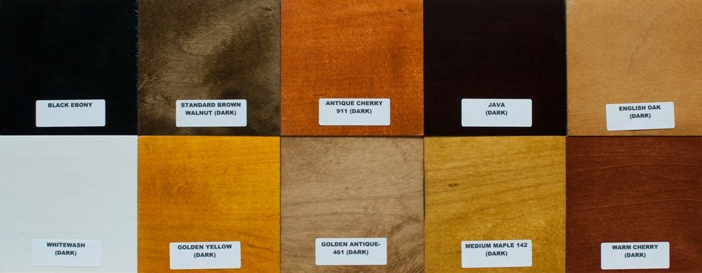 Stains A Staining Wood Stain Colors Wood Stain Colors