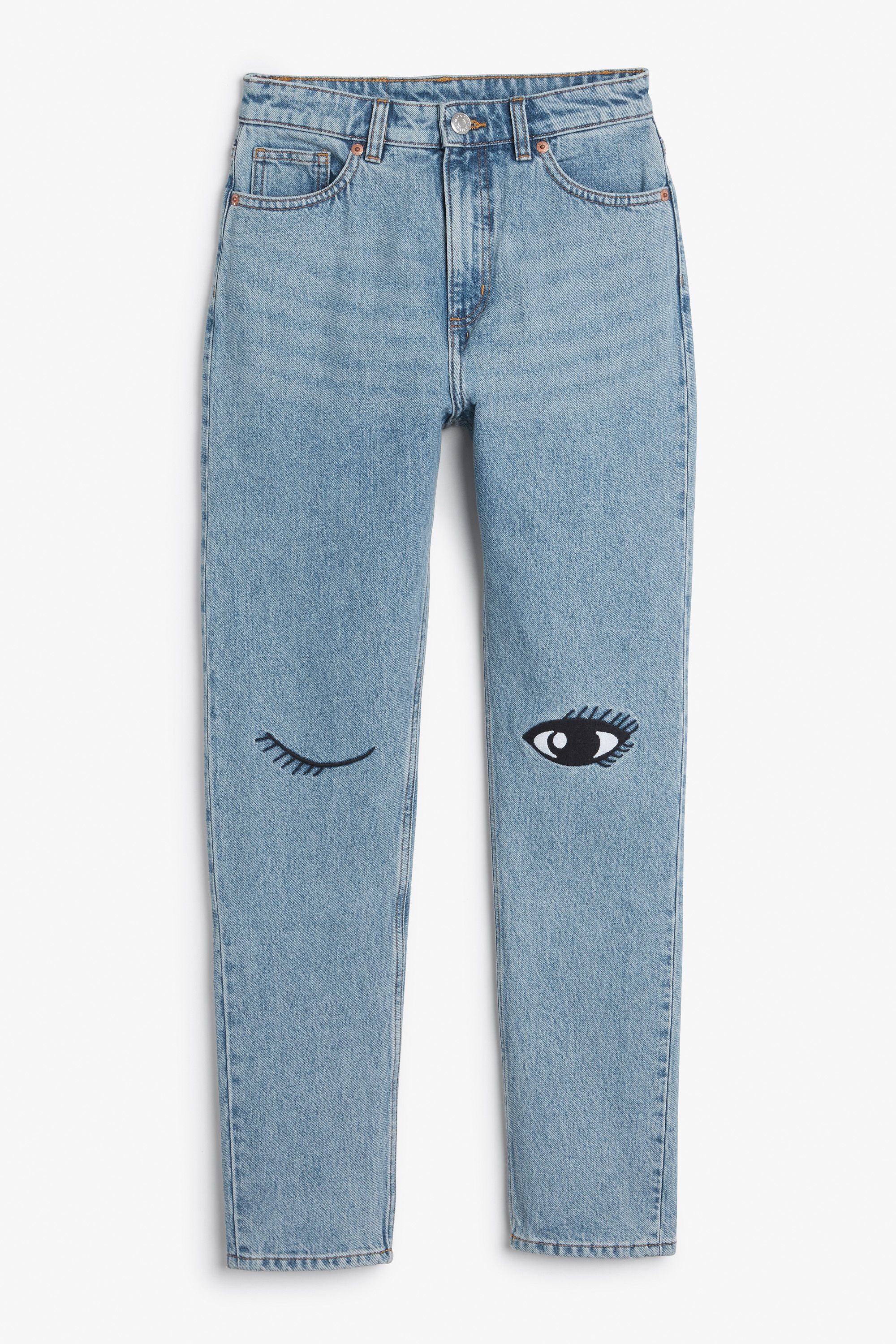 2efcd0db85d6 Jeans - Clothing - Monki ES | loves | Denim fashion, Painted clothes ...