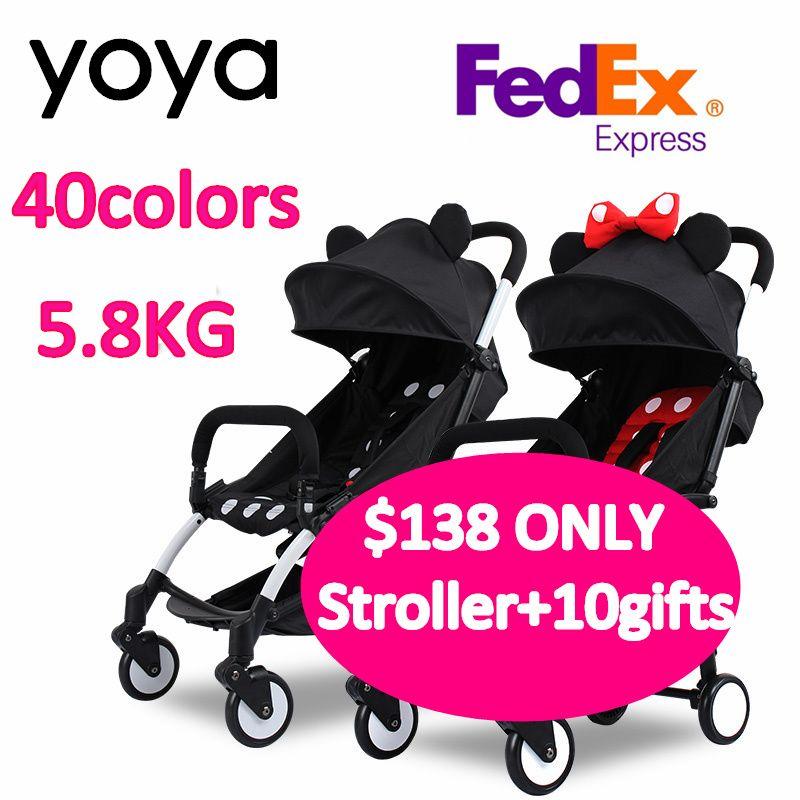 BABY YOYA Baby Stroller Stroller Footboard Accessories