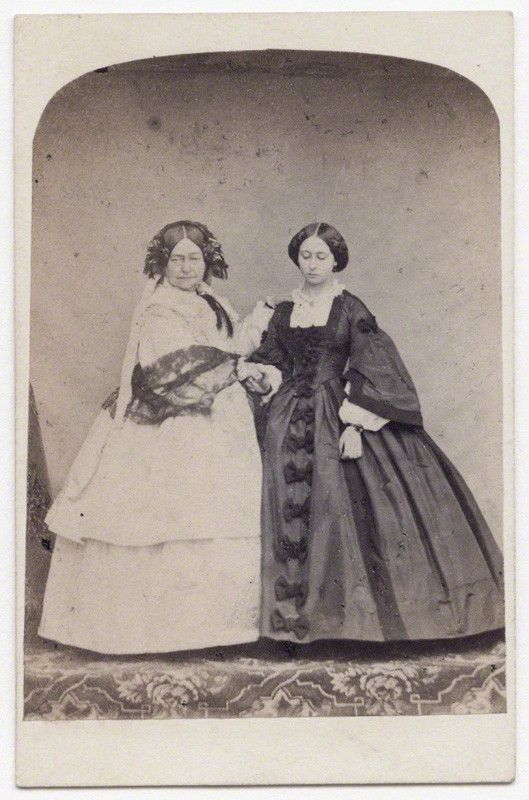Princess Victoria, Duchess of Kent and Strathearn (Queen Victoria's mother); Princess Alice, Grand Duchess of Hesse (the Queen's third daughter) http://www.npg.org.uk/collections