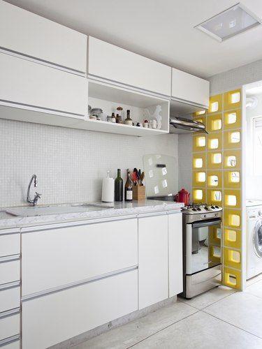 Cobogó cozinha - lavanderia   Decoração   Pinterest   Cocinas ...