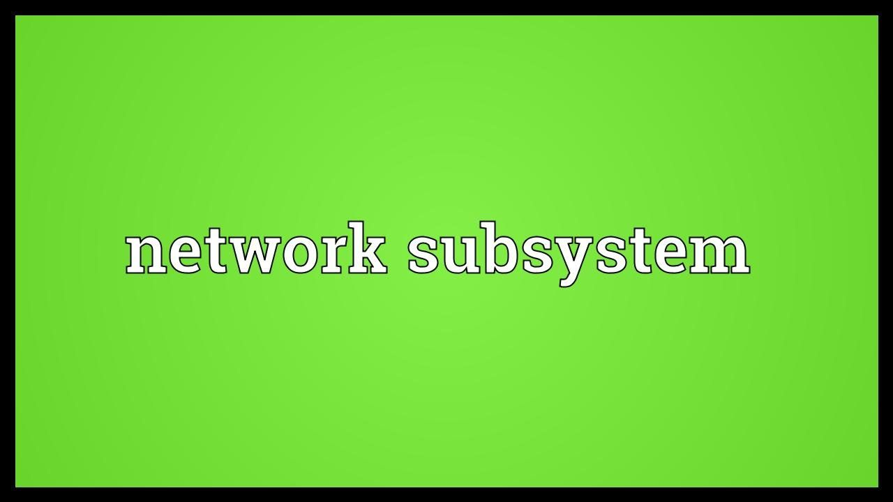 Subsystem Definition Processes Involved In Hardware