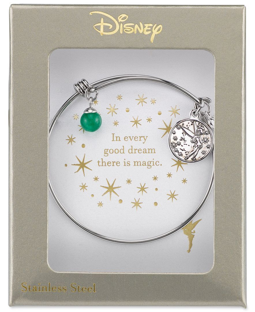 d526664a5 Disney Tinkerbell Dreaming of You Bangle Bracelet in Sterling Silver ...