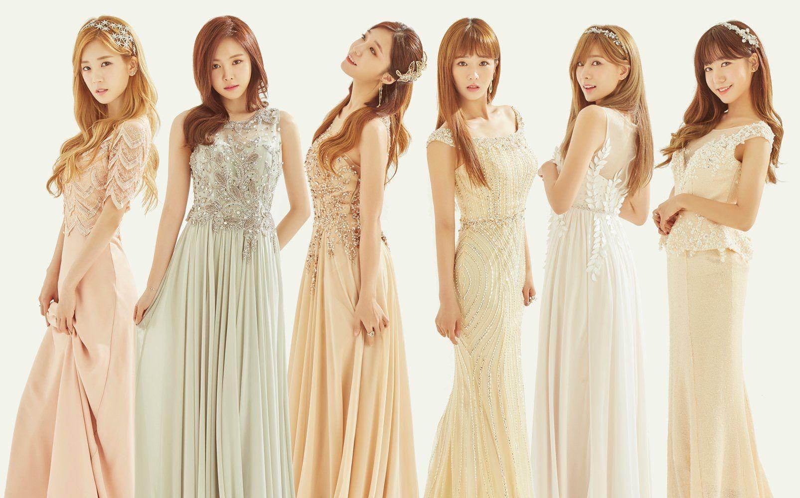 Pin by Emi Jennifer♡ on Apink Dresses, Satin dresses