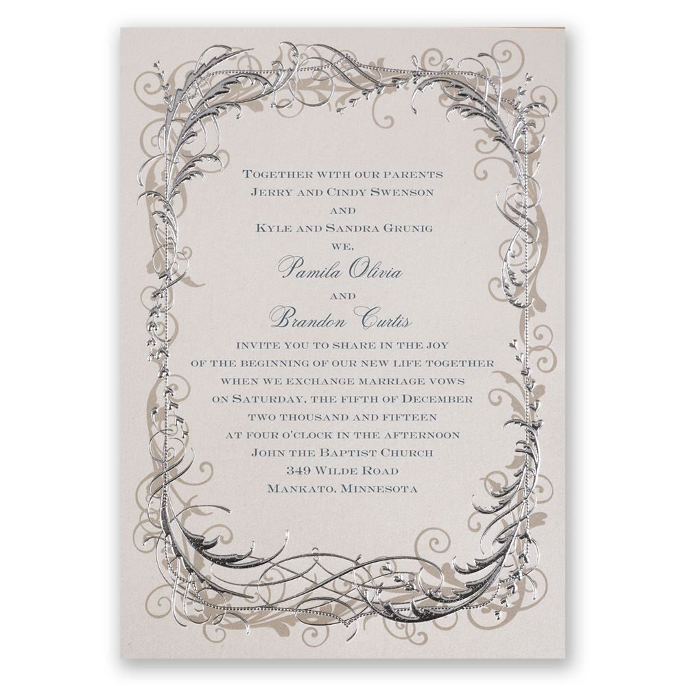 Easily Personalized And Shipped In A Snap Find Beautiful Affordable Wedding Invitations