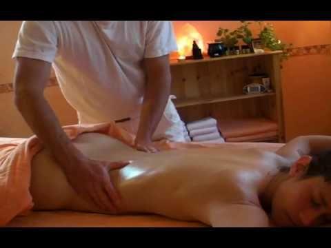 Asian hot oil pelvic massage