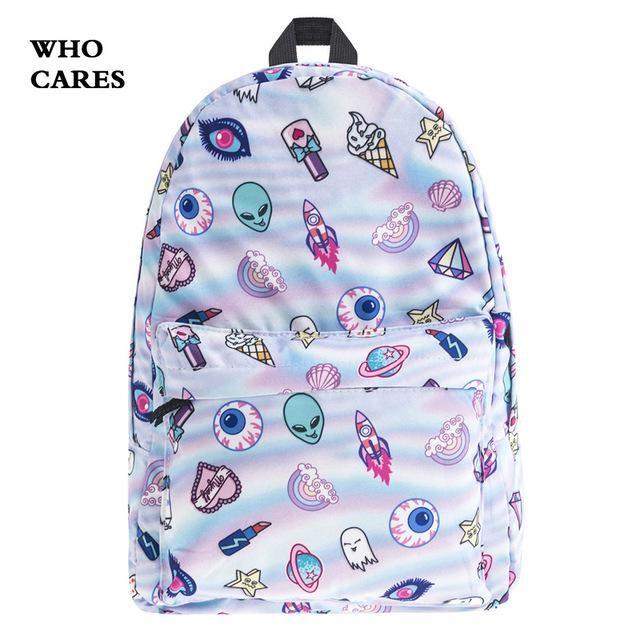 MALLRAT Eomji Panda Print Backpack Women Mochila Necessaire School Bags  Bookbag for teenage girls sac a dos canvas backpack 793e62e644949