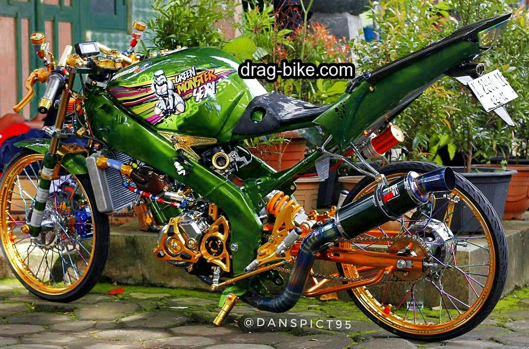 Motor Vixion Modifikasi Street Racing Thailook Style Motor