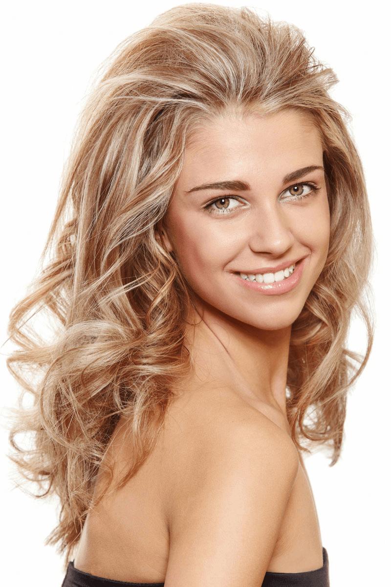Frisuren Lange Haare Blonde Straehnen