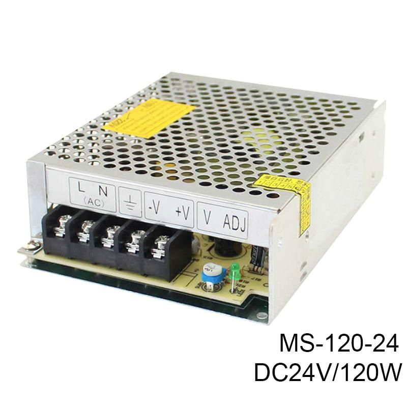MS-120-24 2016 Hot Sale 24V 10A 120W Switching Power Supply