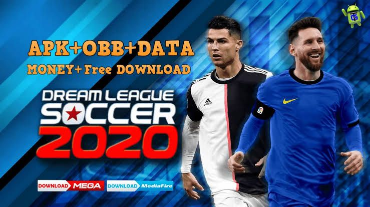 Dream League Soccer 2020 Download Dls 20 Mod And Obb Dls 20 In 2020 Messi And Ronaldo Ronaldo League