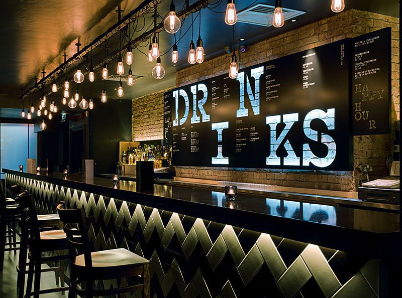 The Roxy | Interiors | Pinterest | Roxy, Bar and Signage