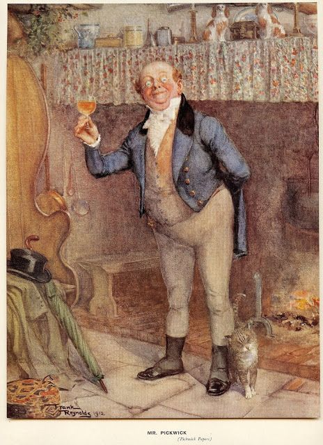 From Charles Dickens' 'The Pickwick Papers', 1912 Frank Reynolds (1876 -1953)   Dickens, The ...